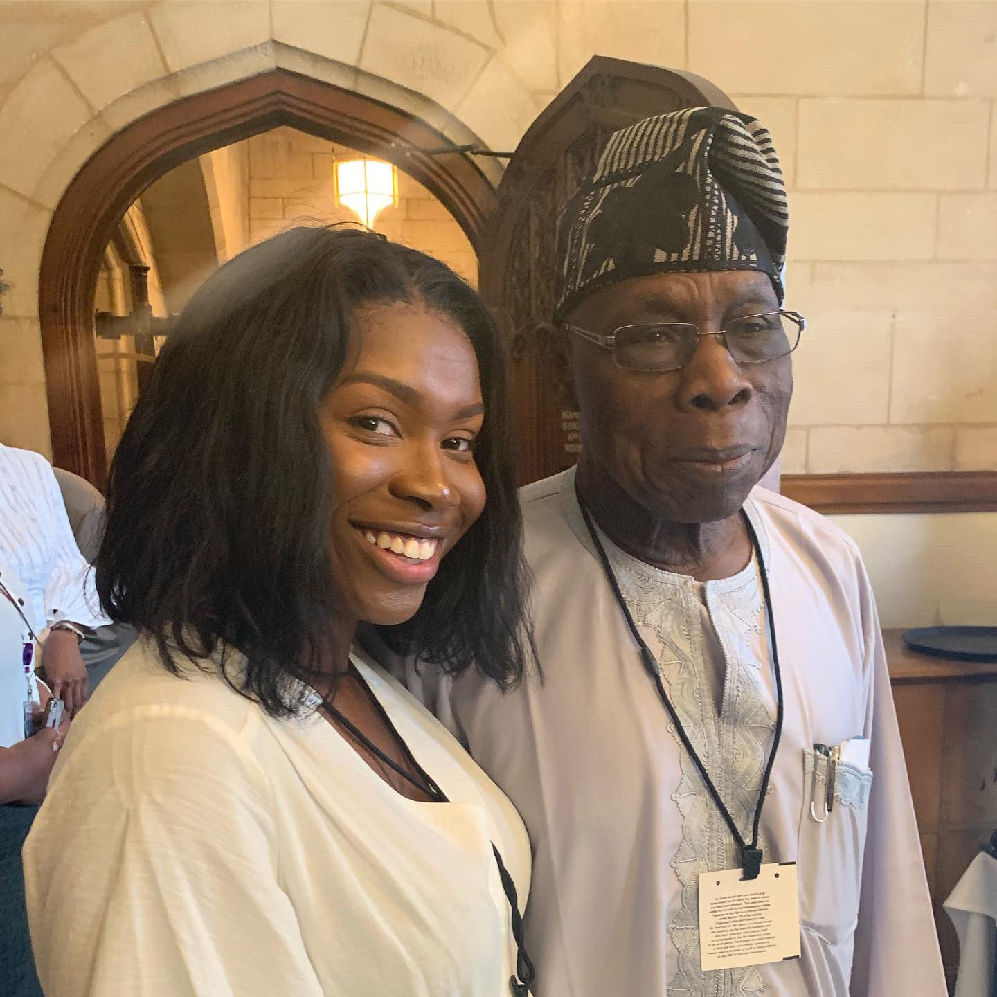 Lady reveals how she became ex-president Obasanjo's self-appointed PA