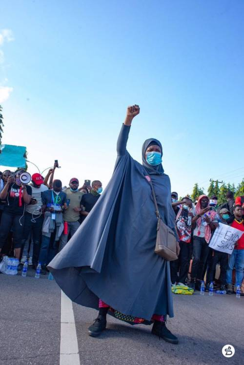 #EndSars: People now curse me in mosques – Aisha Yesufu