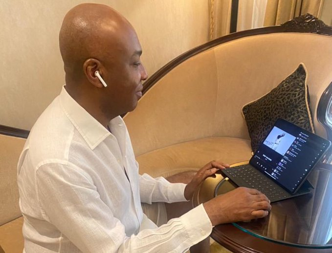 Saraki vibes to Wizkid's new album, 'Made in Lagos'