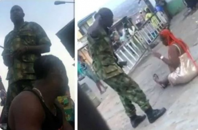 Army arrest Soldiers for flogging woman, shaving youths in Oyo