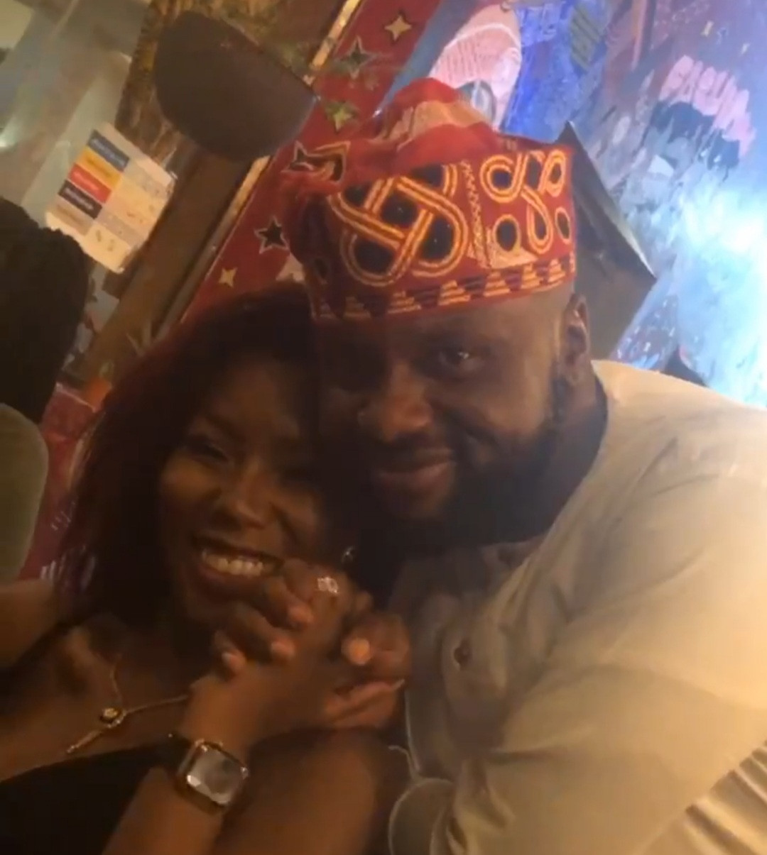 Adebola Williams engages Gbenga Daniel's daughter, Kenny