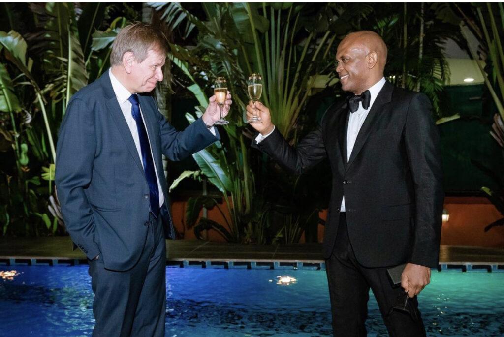 Belgium confers Elumelu with highest national honour