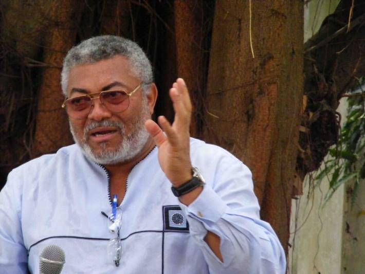 Ex Ghanaian president, Jerry Rawlings is dead
