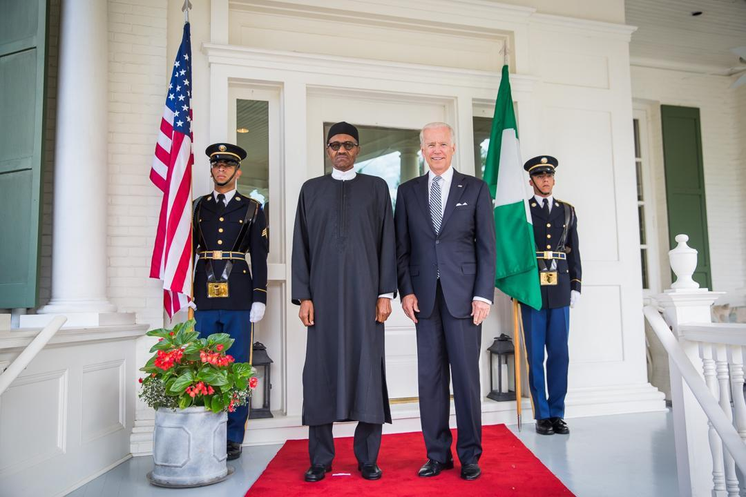 We want your support in the war against Boko Haram – Buhari to Biden