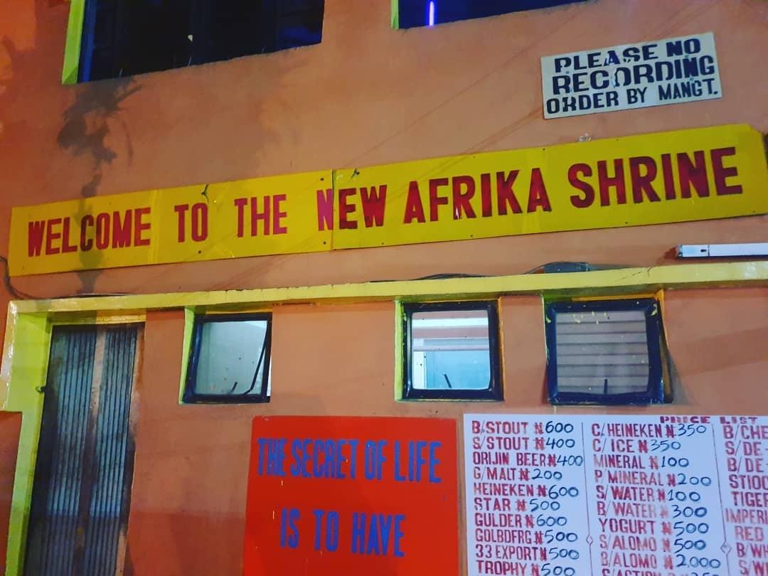 BREAKING: Police storm Afrika Shrine to stop meeting on #EndSARS