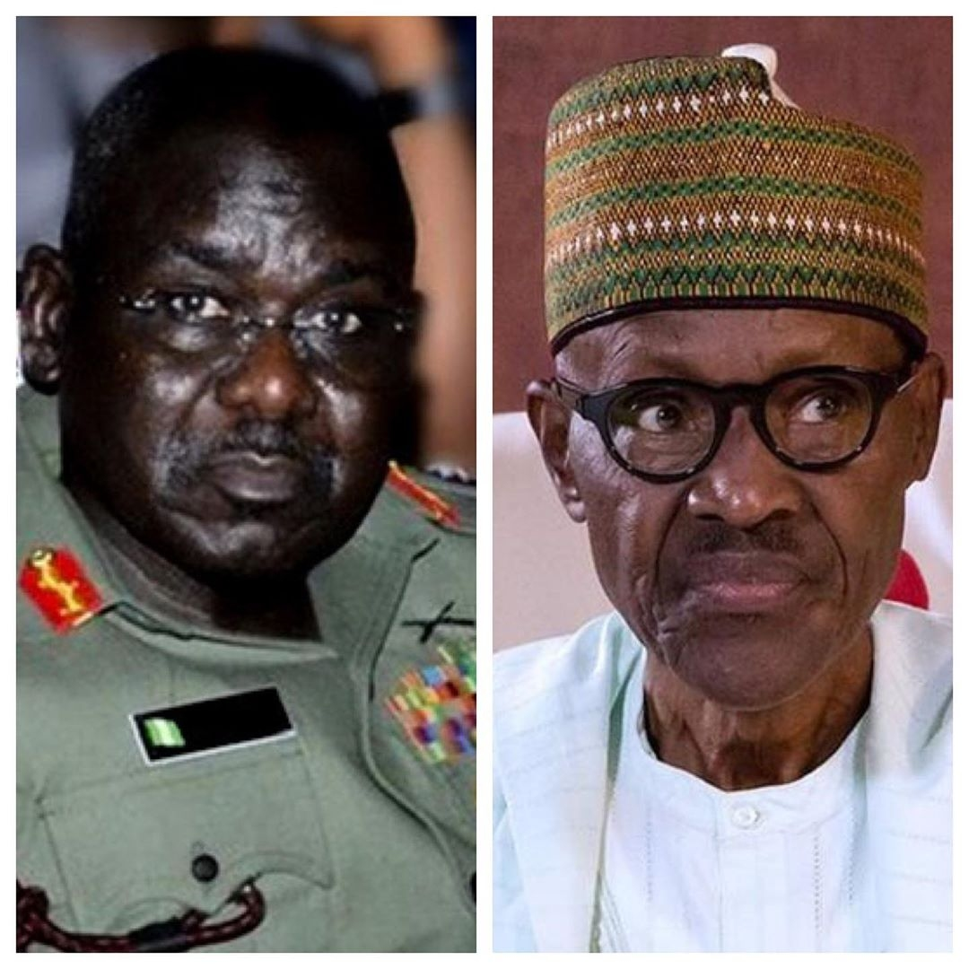 Buhari, Buratai are hiding behind one finger