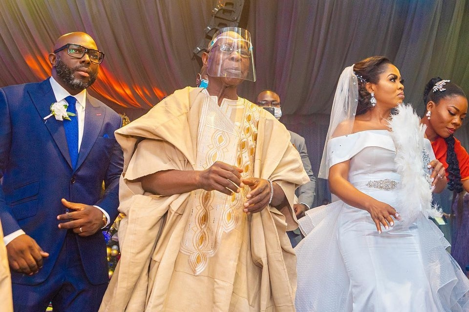 Former President Obasanjo's son, Seun ties the knot