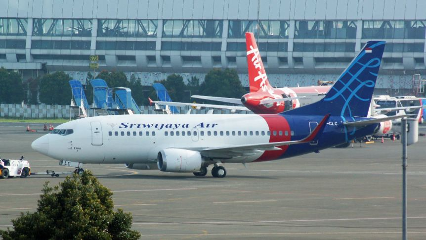 Indonesian plane carrying over 50 passengers missing after take-off
