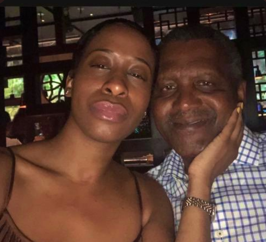 """""""He broke my heart in 1000 pieces but I learnt more from him than any person I ever met"""" – Aliko Dangote's ex girlfriend"""