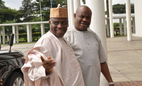 Wike pledges N500 million to Tambuwal while pensioners in Rivers languish
