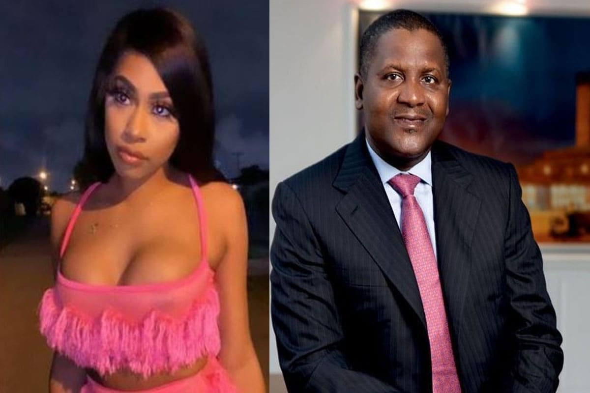 Dangote's ex-girlfriend, Spikes evicted from US. apartment over debt