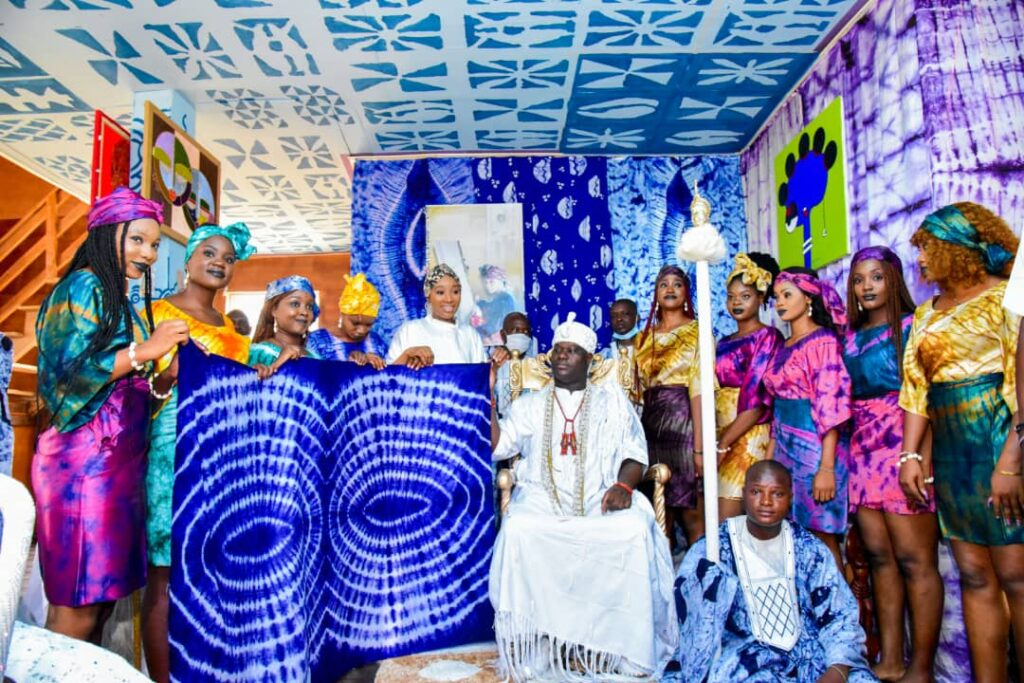Ooni unveils Adire textile hub in Osun for youth empowerment
