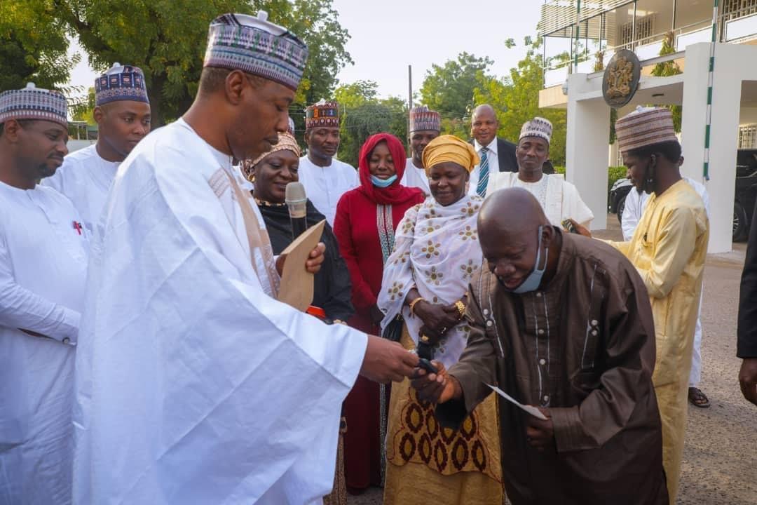 Zulum gifts Yoruba doctor N13.9m, SUV for staying in Monguno despite Boko Haram attacks