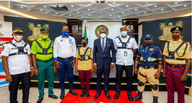 Sanwo Olu launches body cameras for security operatives