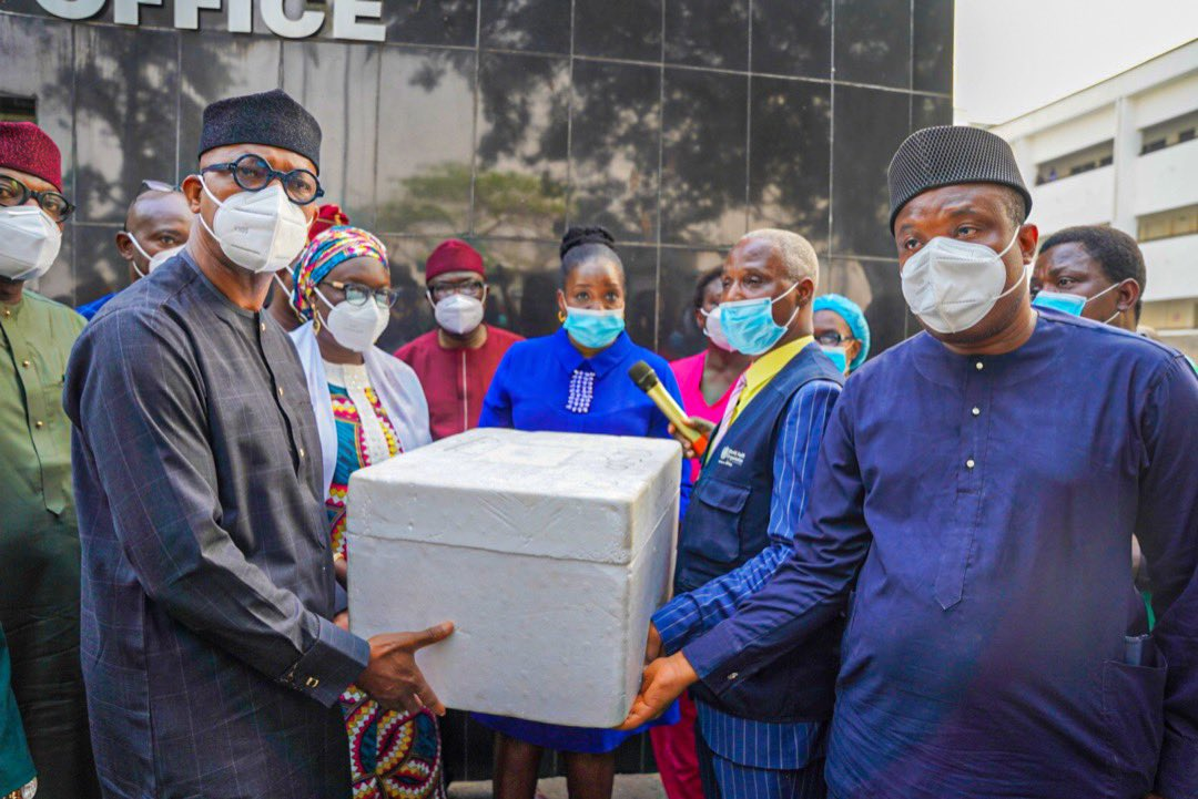 Ogun becomes first state to take delivery of COVID vaccine