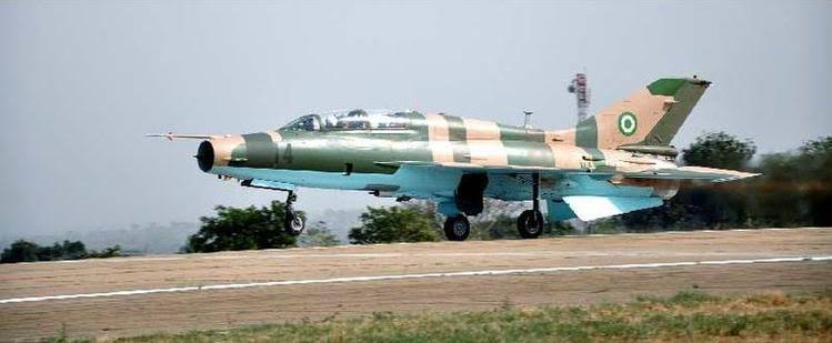Air force jet in pursuit of Boko Haram may have crashed, says NAF