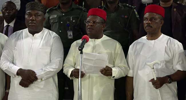 South-east governors establish joint security outfit, Ebube Agu