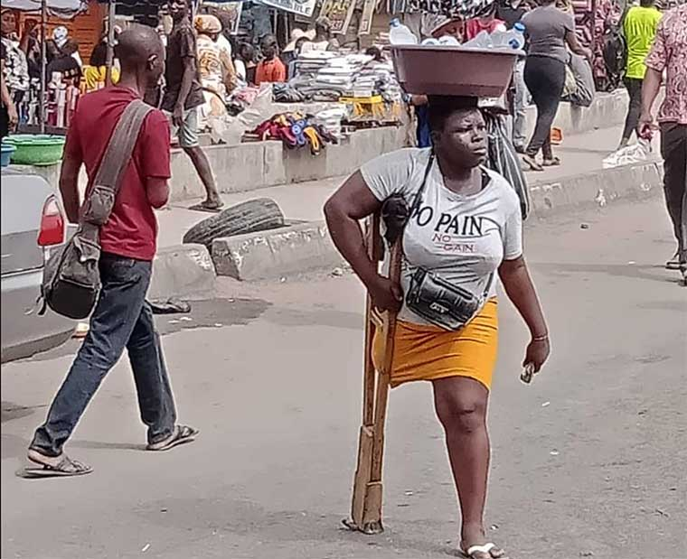 Lagos govt withholds N25m donation to amputee hawker, Mary Daniel for deceiving Nigerians