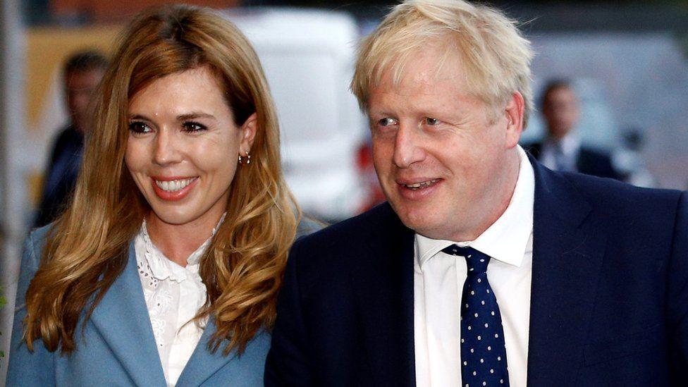 UK's PM, Boris Johnson secretly weds fiancée, Carrie Symonds