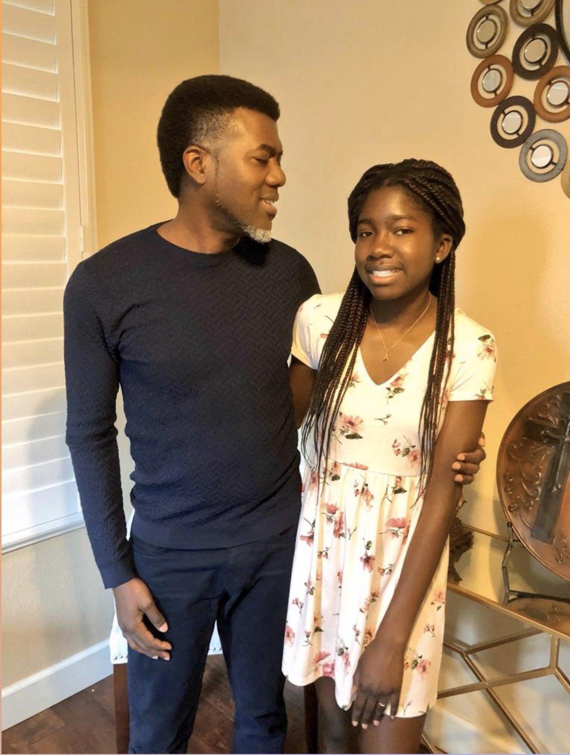 Reno Omokri abandons first daughter as she clocks 16