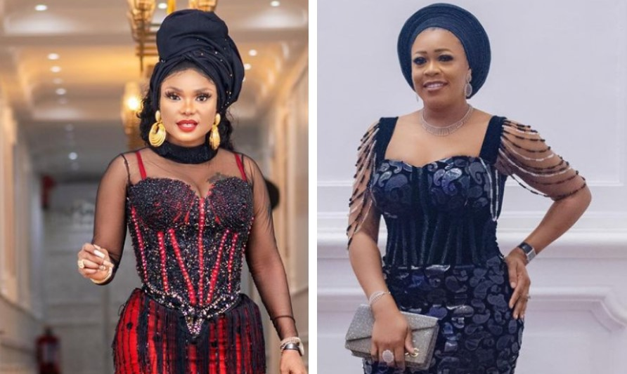 Nollywood actresses and best friends, Iyabo Ojo, Tosin Abiola at logger heads