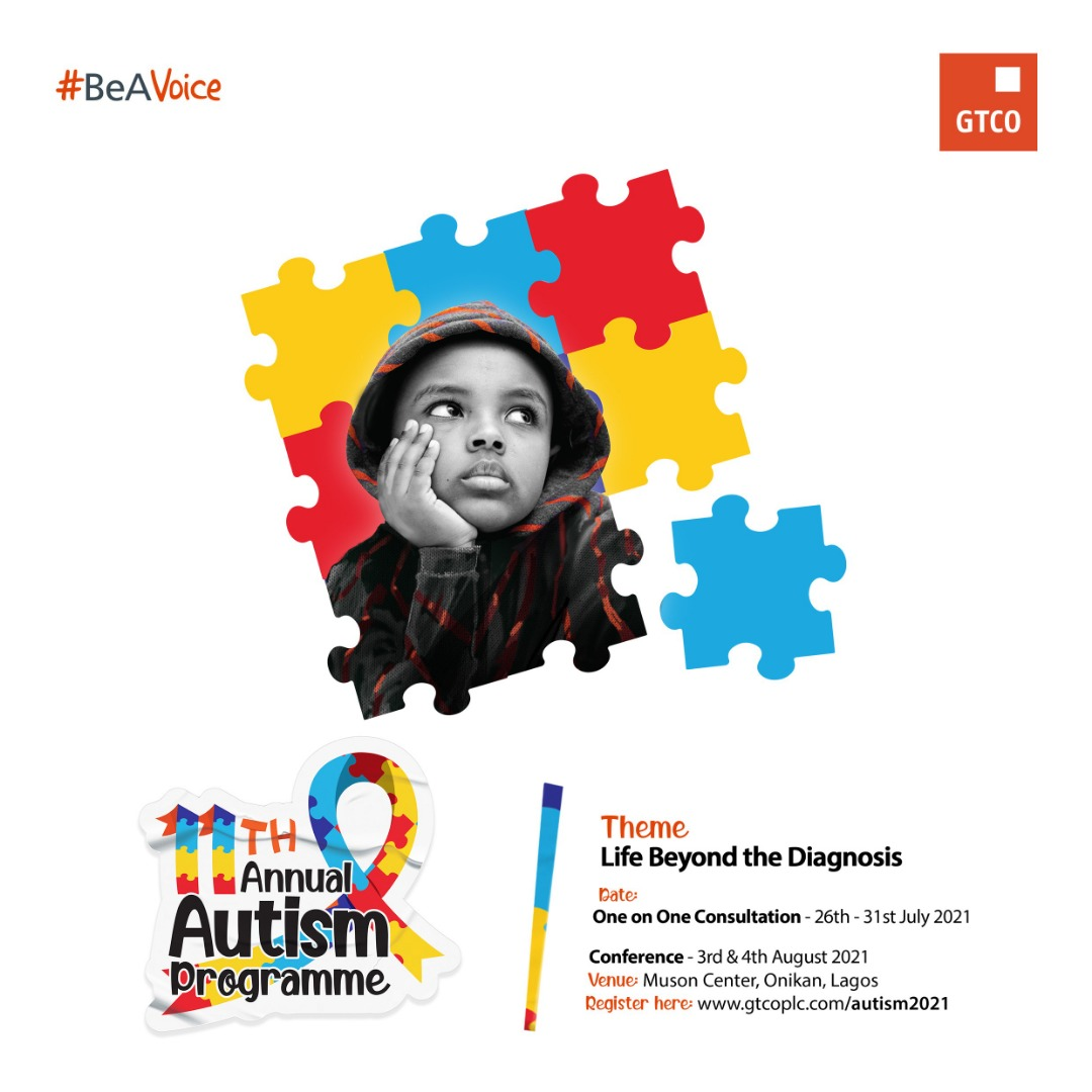 GTBank to hold annual autism conference in August at Muson Centre