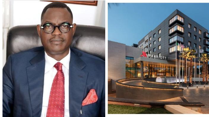Lagos Marriott Hotel catches embarrassing Nigerian bug