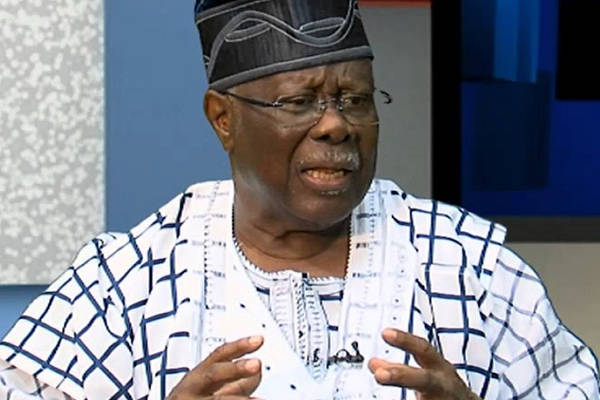 People supporting Tinubu for presidency need medical check-up, says Bode George