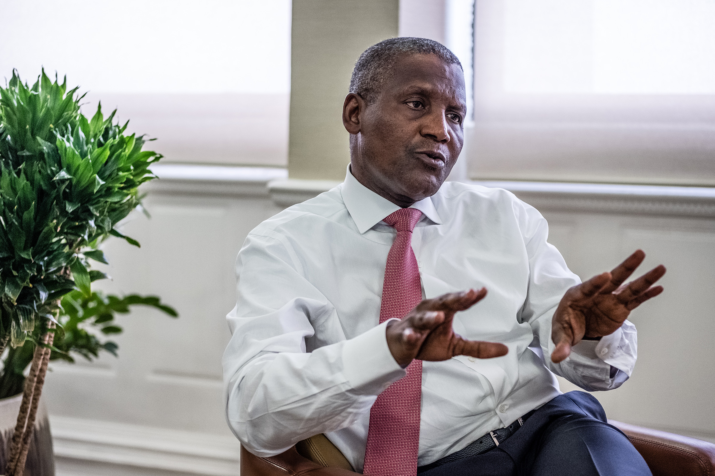 57,000 personnel to benefit from work at refinery site, says Dangote