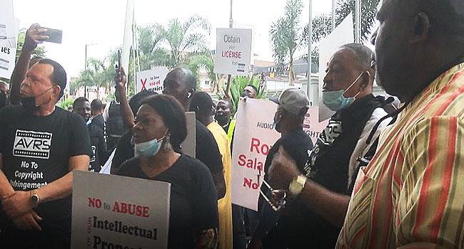 Nollywood actors picket Radisson Blue hotel Ikeja