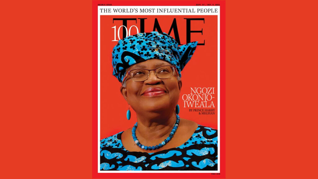 Okonjo-Iweala, the Sussexs, others named Time's 100 most influential people