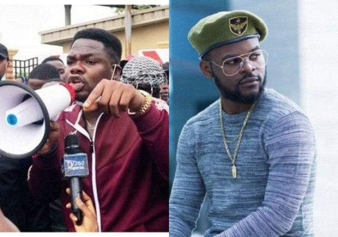 Falz, Mr Macaroni announce drive-thru procession at Lekki tollgate for #Endsars anniversary as police warn against any form of protest
